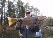 Bert with an awesome 14lb winter buck