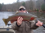 Really nice crimson red steelhead