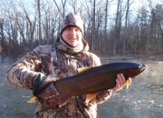 Rod with another nice steelhead