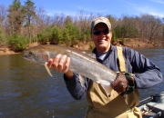 Jim with a nice Muskegon river silver bullet