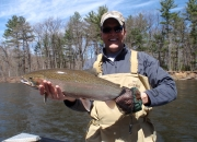 Jim with another nice steelhead
