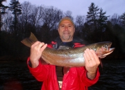 Ed with a spring steelhead
