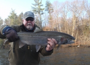 Bert with a nice steelhead