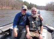 Dave & Bert enjoying the finer things in life!