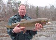 Mark With Another 2014 Spring Steelhead