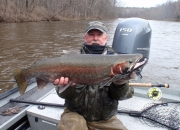 Bob With A Very Well Earned 2014 Spring Steelhead