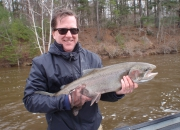 Paul With A 2014 Spring Steelhead