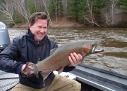 Paul With Another Nice Spring Steelhead