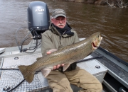 Bob With A Long 32 Inch Spring Steelhead