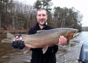 Mike with a big 30-inch, 13lb male