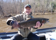 George Jr With A Nice Steelhead
