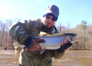 George Sr With A Fat 2014 Spring Steelhead