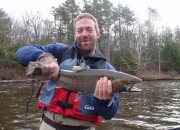 Griff with a nice 2014 spring steelhead