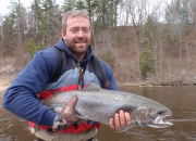 Griff with a 2014 spring steelhead