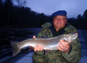 Bob with early morning chrome