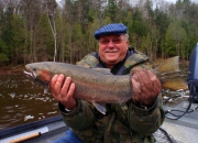 Bob with a nice colored buck