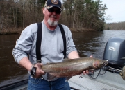 Jim with a nice 2013 spring steelhead