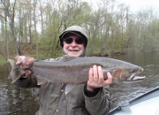 Bob' with a nice 2013 spring steelhead