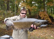Tom with a nice 2014 King Salmon
