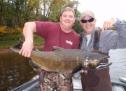 Jerry & Scott's Muskegon River King Salmon 2013