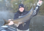 Mike with a dark King Salmon