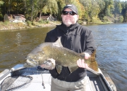 Mike with a King Salmon