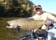 Antone's 28lb. Muskegon River Salmon