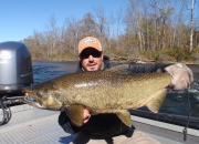 Jeff with a nice 2014 King Salmon