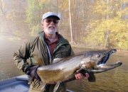 Bob's Awesome Muskegon River Fall Salmon 2013