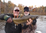 Bert & Jim with a King Salmon
