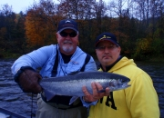 Bert with a nice fall silver bullet