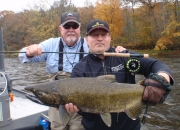Jeff & Bert with a 2014 King Salmon