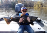 9 yr Old Jordan with a 28lb King Salmon
