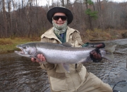 Ed with an really nice 14lb 30inch males steelhead