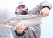 Hard fighting, explosive jumping 2012 fall steelhead
