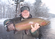 Bert's Muskegon River Winter Steelhead