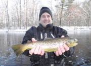Jeff's 22-inch Muskegon River Brown Trout