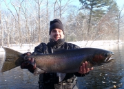 Jeff's 32-inch Muskegon River Winter Steelhead
