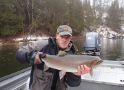 Jeff with a really nice winter steelhead