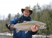 Mike with a really nice spring steelhead