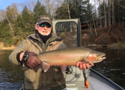 Bob with a picture perfect fall steelhead
