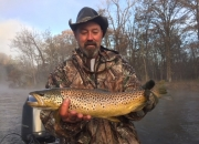 Beautiful 22 inch Muskegon river brown