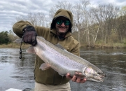 Todd with a Muskegon River Silver Bullet