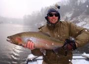 17 lb Muskegon River Fall Steelhead, Nov 23