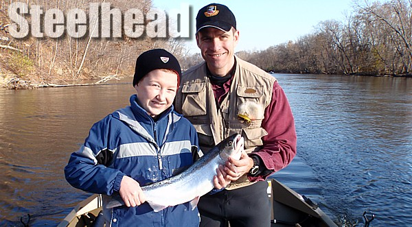 Muskegon Steelhead Fishing