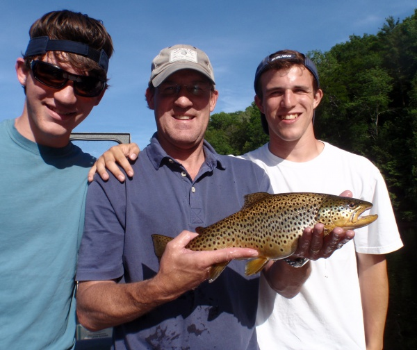 Johns awesome brown trout