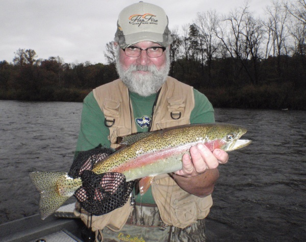 Dave's 20 inch Rainbow Trout