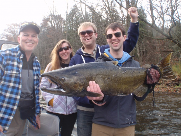 Zach 23lb King Salmon