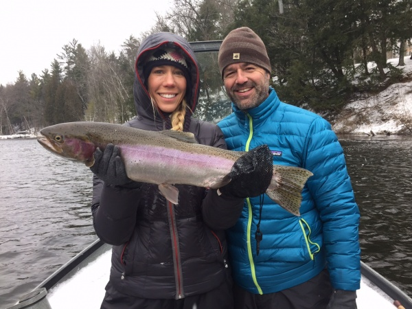 Victoria & Randy Sharing some winter chrome
