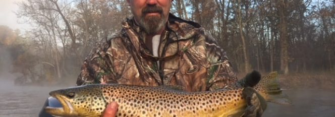 Living A Brown Trout Dream!